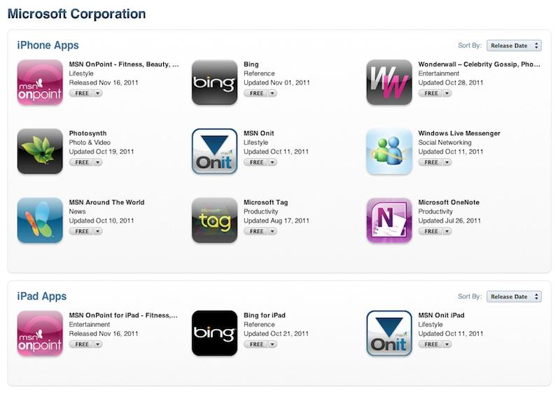 Microsoft working to bring its Office apps to iPad, Mac OS X Lion