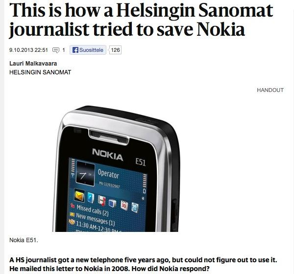 How Apple's iPhone rapidly destroyed Nokia's world leading