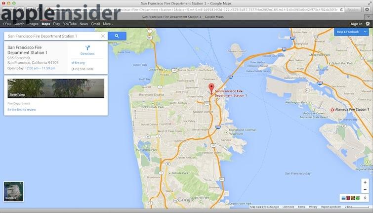 Apple's new Maps app in OS X Mavericks extends tools for ... on pal map, ata map, indicator scale on map, nfa map, con map, glonass map, lab map, fal map, digital mind map, march map, rocket city map, concealer map, ess map, ntsc map, access point map, tip map, lcd map, ddos map, ink drawing map, watson's map,