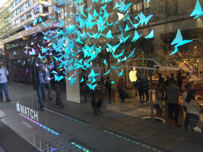 Inside Apple UK: Lavish London stores welcome Apple Watch buyers