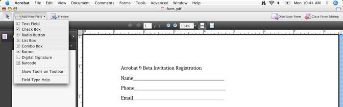Adobe Acrobat 9