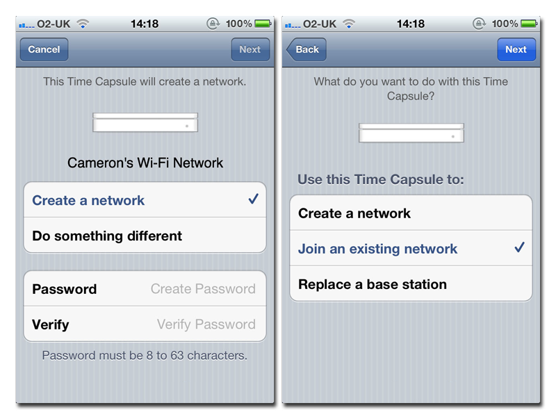 Inside Apple's iOS 5: AirPort, Time Capsule setup goes PC-free