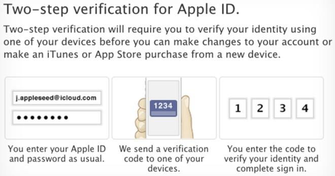 Apple expands Apple ID two-step verification to more countries