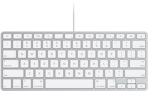apple introduces compact wired keyboard with new imacs. Black Bedroom Furniture Sets. Home Design Ideas