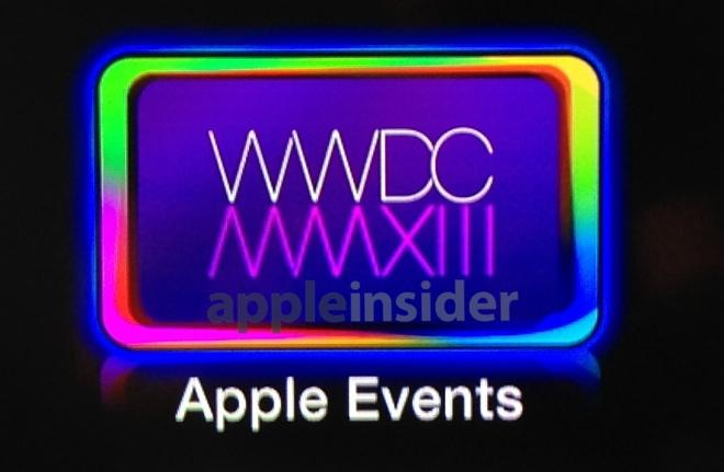 Apple to stream WWDC 2013 keynote to Apple TV, official website
