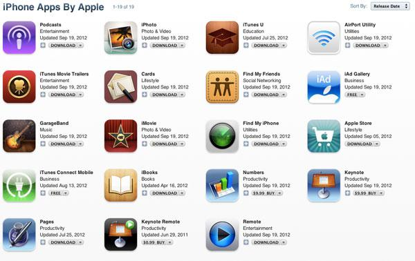 Apple issues major iOS 6 updates for nearly all of its apps