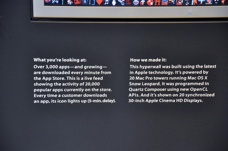 App Store Hyperwall