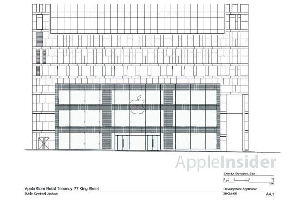 Apple Store Sydney Architectural Schematics