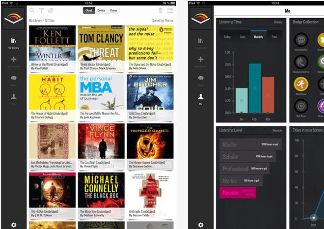 Audible brings audiobooks to Apple's iPad with first tablet