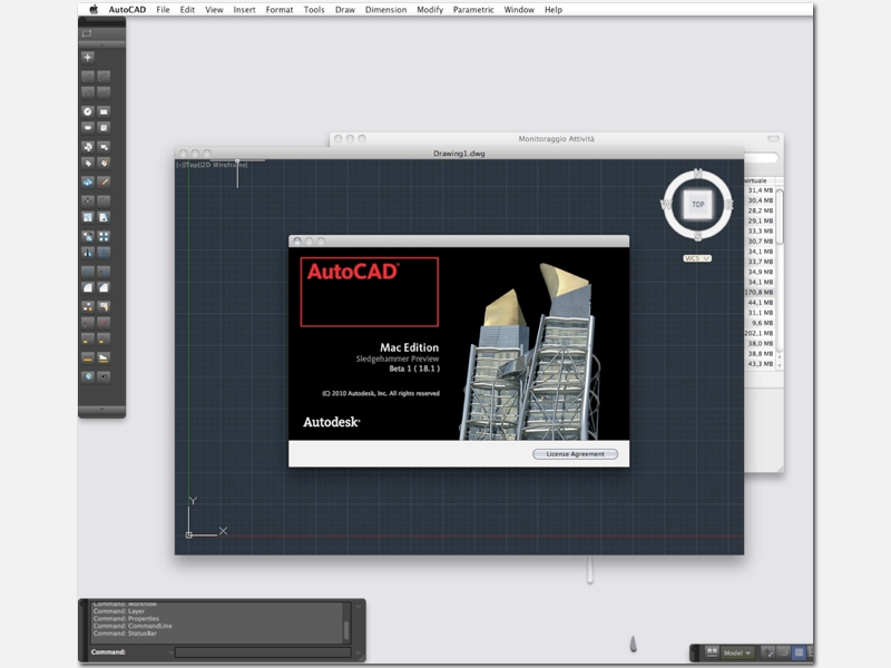 AutoCAD for Mac beta