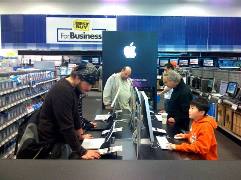 Best Buy Apple Boutiques
