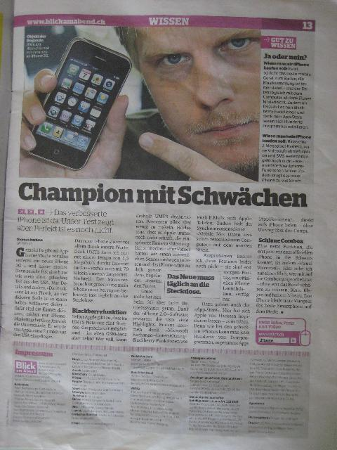 Blick iPhone review