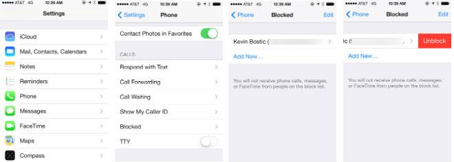 iOS 7 feature focus: Block calls, texts, and FaceTimes from