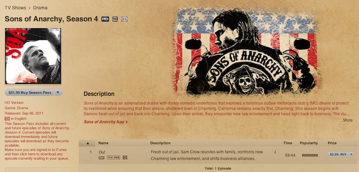 TV studios quietly adding closed-captioned episodes to iTunes Store