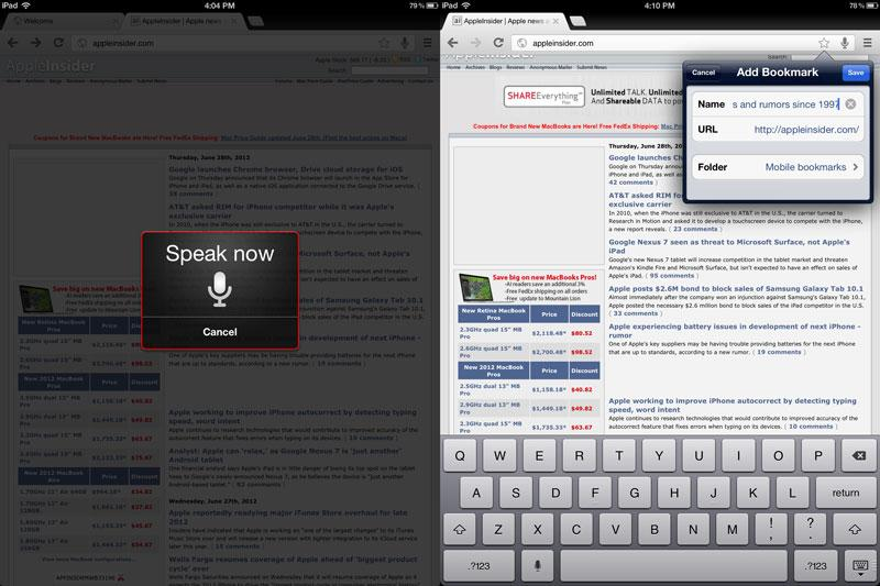First look: Google's Chrome browser comes to iPad, iPhone