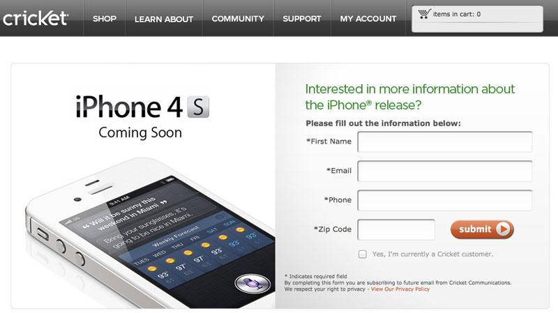 America S First Prepaid Iphone Arrives On Cricket Wireless
