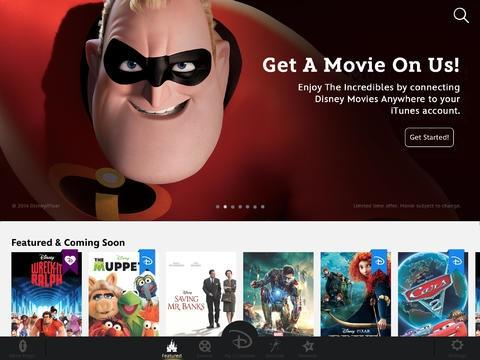 Disney Movies Anywhere allows users to bypass Apple's store