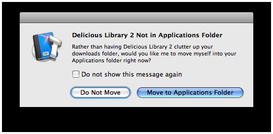 Delicious Library 2.0