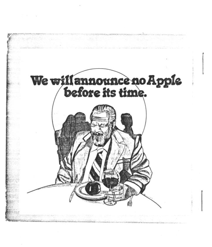 Apple: the early years
