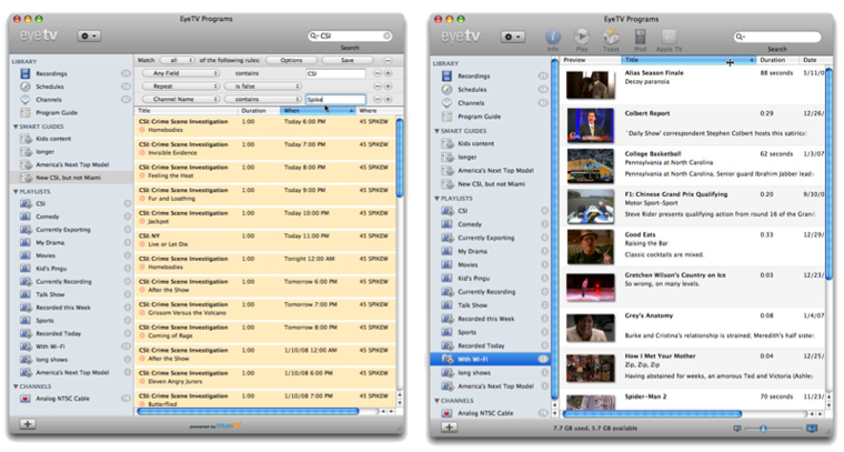 Elgato to unleash EyeTV 3 with Smart Guides, iTunes-like