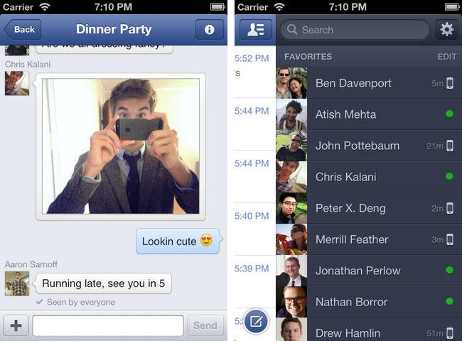 Facebook to offer free or discounted data for Messenger iOS