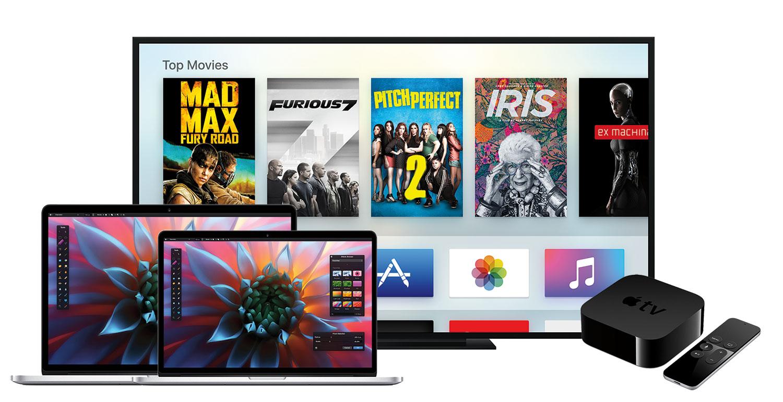 macbook on apple tv