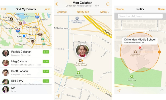 Apple's Find My Friends app updated with new look for iOS 7
