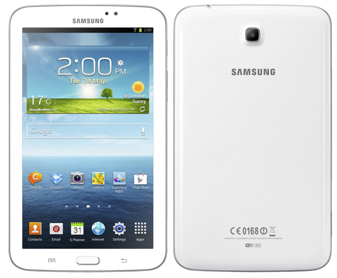 Samsung S New 7 Galaxy Tab 3 To Take On Apple S Ipad Mini And Take