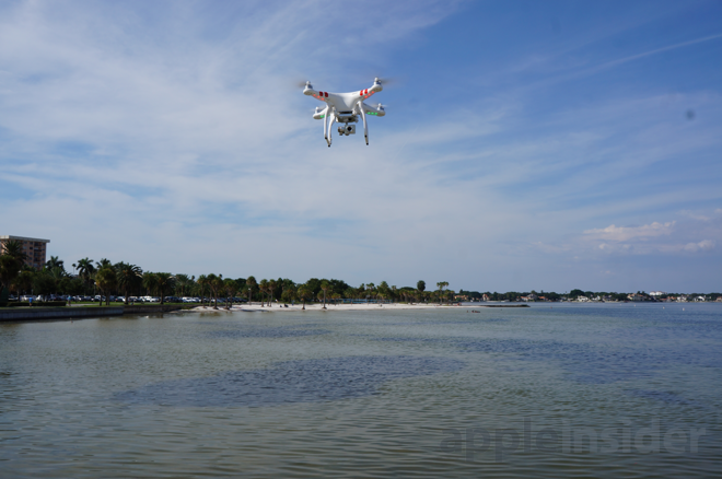 Review: Using the DJI Phantom 2 Vision+ camera drone with