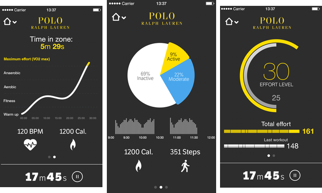 Ralph Debuts Lauren Health Ios Fitnessamp; Connected Tracking Polo Y76bfgy