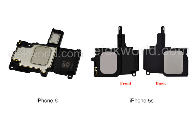 buy popular 9d592 a99a6 Purported 'iPhone 6' speaker assembly revealed by Chinese repair firm