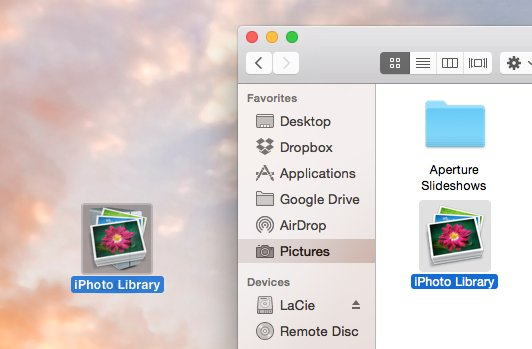 How to safely move your Mac's iPhoto library onto an