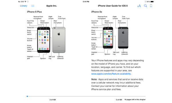 iphone 6 manual apple releases iphone user guide in ibooks 11358