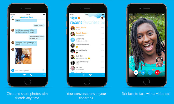 skype app for iphone skype and ios apps updated with iphone 6 6921
