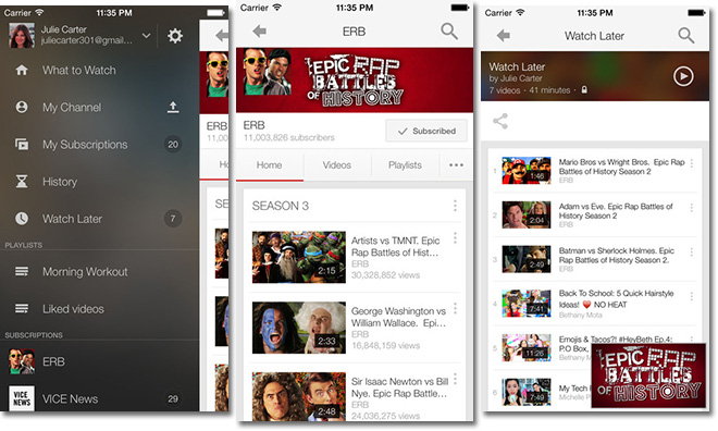 Skype, YouTube and Facebook iOS apps updated with iPhone 6