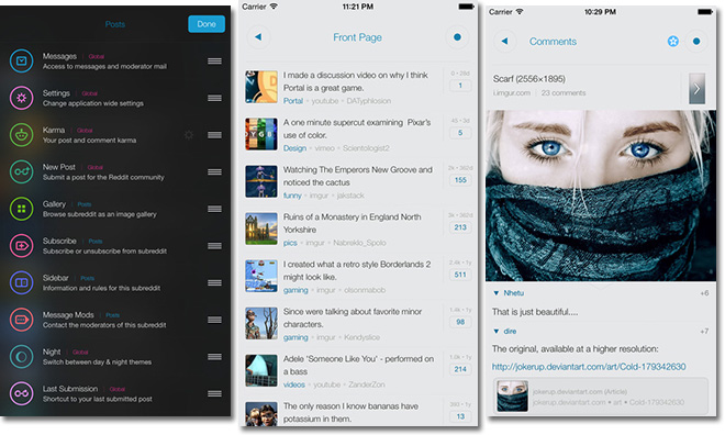 Reddit buys unofficial iOS client Alien Blue, offers 'Pro' features