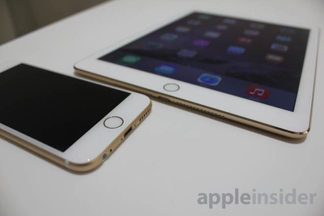 First Look Hands On With Apple S New Ipad Air 2 Mini 3