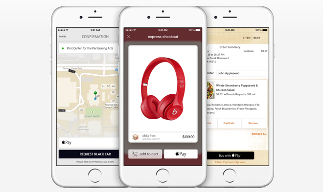 Apple Pay in-app transactions rapidly expanding beyond NFC payment