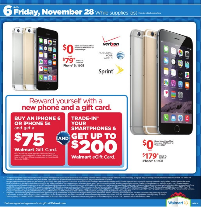 wholesale dealer d769f 2c7f9 Walmart's Black Friday deals bundle $30 gift card with $200 iPad ...