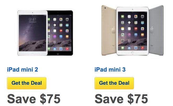 b5046b143 Best Buy jumpstarts Black Friday sales with early  75 discount on all iPad  mini 3 models