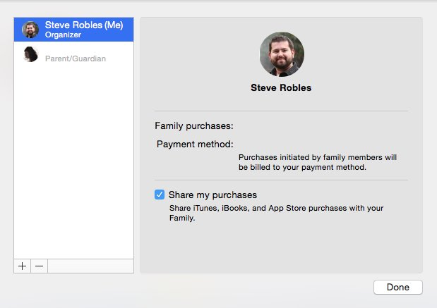 How to enable and manage iCloud Family Sharing on iOS and OS X