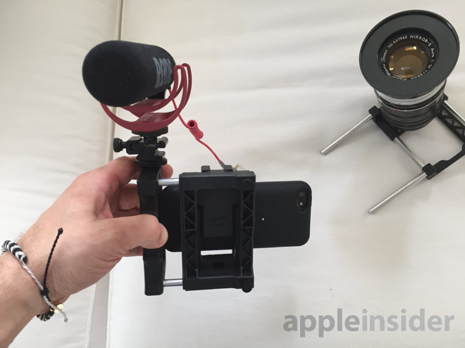 iphone lens adapter look beastgrip pro lens adapter platform for apple 11987
