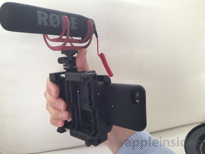 reputable site b4832 be5af First look: Beastgrip Pro lens adapter platform for Apple's iPhone