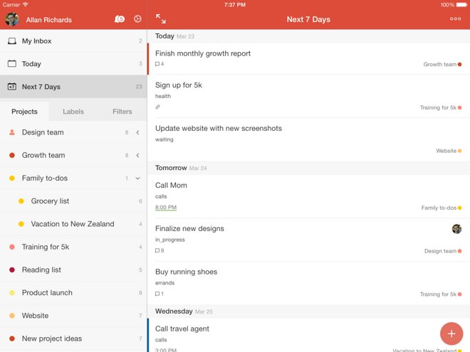 Todoist for iOS gets major upgrades, New York Times creates