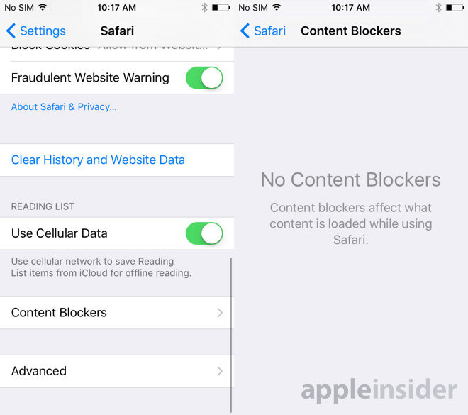 Apple enables third-party content blockers for Safari in iOS 9