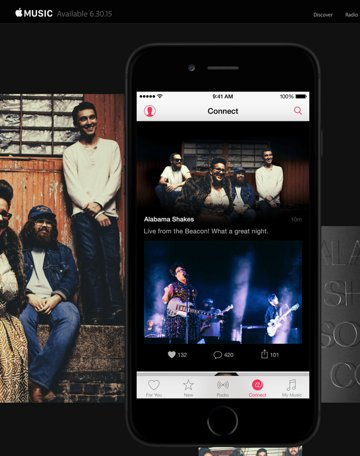 Apple Music marketing features artists whose labels publicly