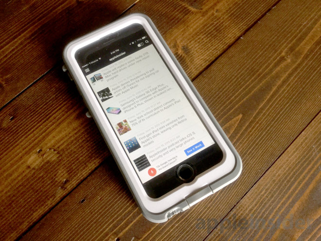 timeless design 546f8 79bac Review: LifeProof Fre Power turns iPhone into a long-lived ...