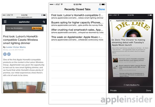 iOS tips: Reopen recently closed tabs in Apple's mobile