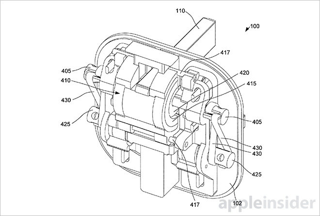 Apple Patent Adds Magnetic Drive Actuation To Uk Style Folding Pin