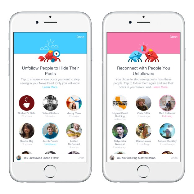 Facebook launches News Feed prioritization first via its iOS app